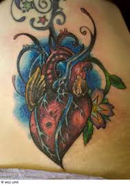 heart tattoo gallery rose sacred broken celtic tribal heart