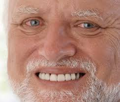 Meme Man - old man forced smiling dead inside album on imgur