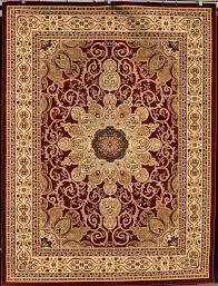 Ebay Area Rugs Burgundy Green Beige Black Isfahan Area Rug Oriental Carpet Large