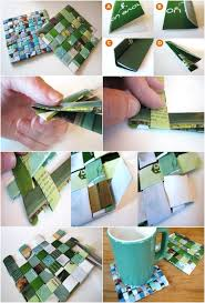 recycled magazine coasters nat geo would be perfect to use
