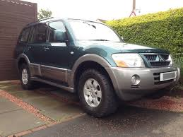 mitsubishi shogun 3 2 equippe manual 4x4 in south gyle