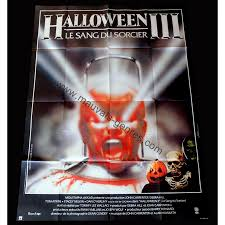halloween iii season of the witch french movie poster tommy lee