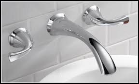 Delta Wall Mount Kitchen Faucet Easy Installation Wall Mount Kitchen Faucet