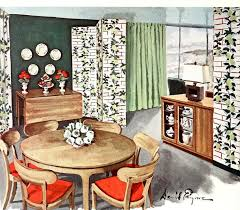 50s Kitchen 354 Best 1950s Kitchen U0026 Dining Images On Pinterest 1950s