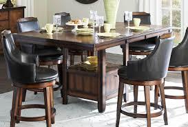 black wood pub table set dining table ashley furniture narvilla