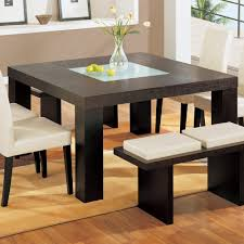 Santa Fe Square Solid Wood Counter Height Dining Room Table For - Square kitchen table with bench