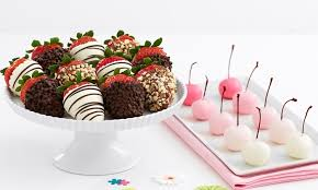 Where To Buy Chocolate Dipped Strawberries Dipped Strawberries And Treats Shari U0027s Berries Groupon