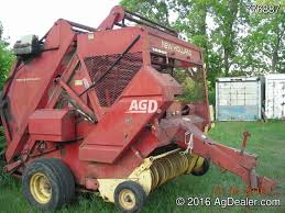 used new 852 baler agdealer