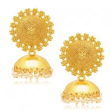 earrings for women sukkhi stylish gold plated earring for women best earrings online