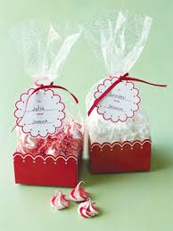wedding treat bags scallop treat bags 8 pcs theme wedding