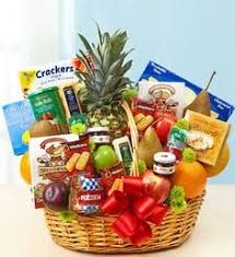 you can spice up any of our fruit baskets with a selection of