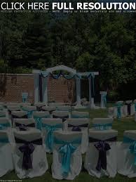 backyard simple backyard wedding decoration ideas amys office