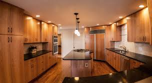 Natural Cherry Shaker Kitchen Cabinets Kitchens
