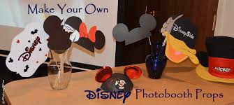 make your own photo booth how to make disney photobooth props with free printables 4 the