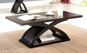 Wood Shelf Design Plans by Coffee Tables Simple Espresso Coffee Table With Open Shelf