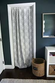 Shower Curtain Door Curtain Instead Of Door Curtains Instead Of Doors Curtain Door