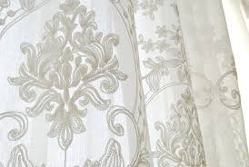 Blue Butterfly Curtains Embroidered Sheer Curtains Interior Design