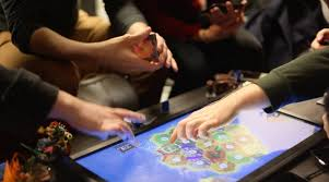 play table board game console the playtable blockchain console brings digital board games back to