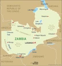 map of zambia zambia map zambia travel maps from word travels
