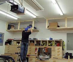 10 diy garage shelves ideas to maximize garage storage home
