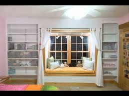 built in window seat morphing built in shelves around a window seat youtube