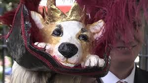 The Queen S Corgi Royal Ascot Racegoer Celebrates The Queen With Corgi Hat Get Surrey