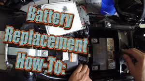 how to harley davidson street glide battery replacement 2012