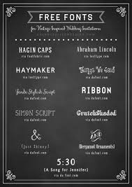 free fonts for wedding invitations free fonts to use on rustic or vintage inspired wedding invitations
