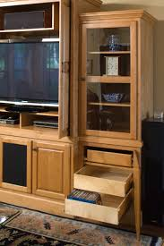 Rolling Shelves For Kitchen Cabinets The Perfect Entertainment Center Media Center Pull Out Shelves