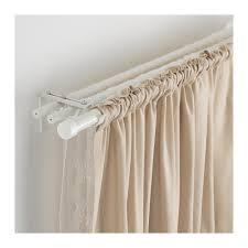 ikea curtain rods räcka hugad triple curtain rod combination ikea