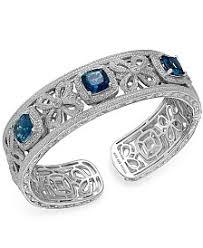 blue topaz bracelet gold images Blue topaz bracelet shop blue topaz bracelet macy 39 s 5,0&a