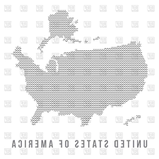 Usa Map Black And White by Top Dotted Usa Map Download Royalty Free Vector File Eps Photos