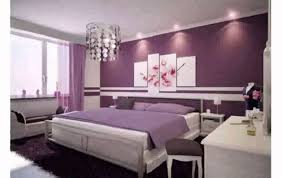 photo chambre adulte deco chambre noir violet avec papier peint mauve pour chambre adulte