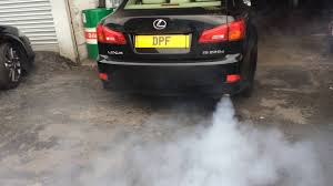 lexus cars exeter lexus is220 during regeneration after dpf clean at www