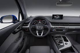 Audi Q5 Inside 2016 Audi Q7 First Look Motor Trend