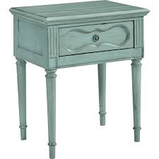 magnolia home night table with drawer french blue nightstands
