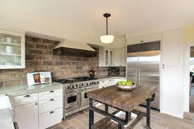 kitchens with brick walls kitchens with brick walls modern kitchen design and dining area