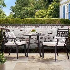 fairmont 3 piece steel patio bistro set threshold 249 includes