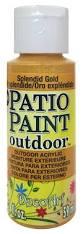 decoart patio paint 2 oz splendid gold createforless