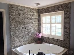 stone bathroom tiles beige color scheme for master bath cabinet