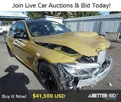 bmw car auctions salvage 2015 bmw m3 for sale wbs3c9c59fp803513 https abetter