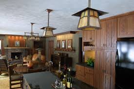 amazing craftsman style kitchen lighting pertaining to interior