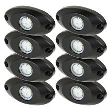 led ground effect lighting kit 8 led light modules led light