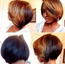 layered bob sew in hairstyles for black women for older women 20 short bob hairstyles for black women short hairstyles 2016