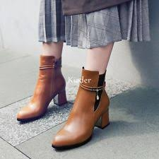 womens ankle boots size 9 uk clarks whistle riona medium leather 26103630 brown womens us size