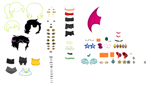 ultimate homestuck character creation template by games4me on