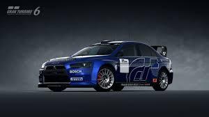 subaru evo 10 mitsubishi lancer evolution x rally car gran turismo 6