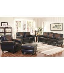 4 Chairs In Living Room by Living Room Sets Venezia 4 Piece Leather Set