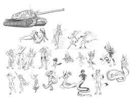 tonal sketch batch 2 u2014 weasyl