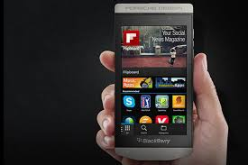 porsche design and blackberry combine to make a z10 for the rich
